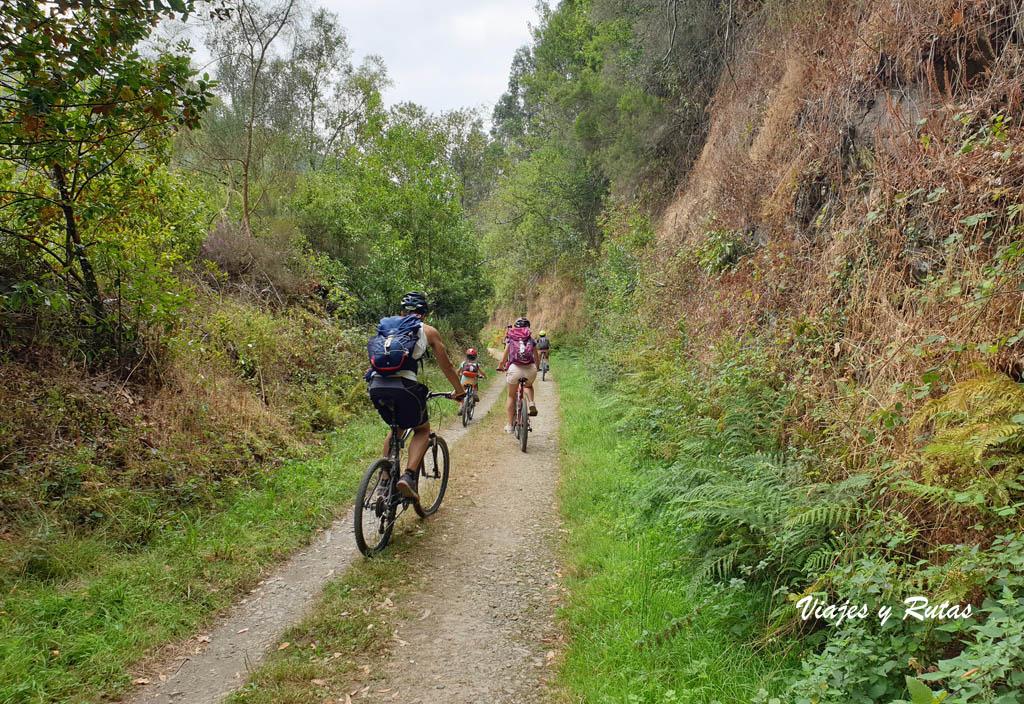 La vía verde del ferrocarril en bici