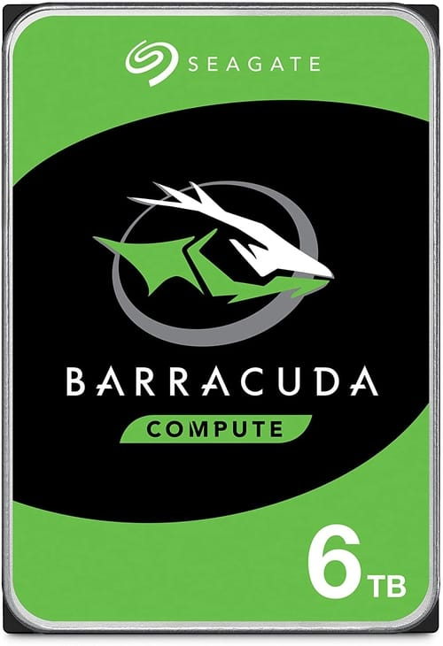 Seagate BarraCuda 6TB Internal Hard Drive HDD