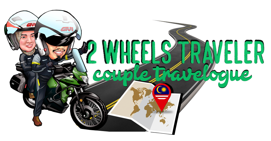 Two wheels traveler