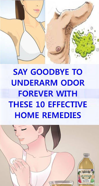 10 Effective Home Remedies To Say Bye To Underarm Odor Forever