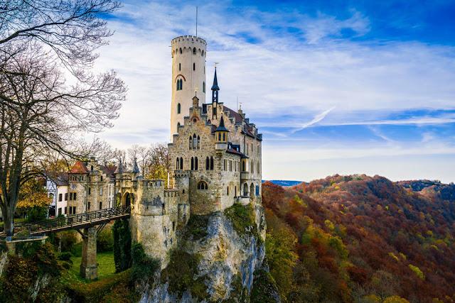 Castle Lichtenstein Germania
