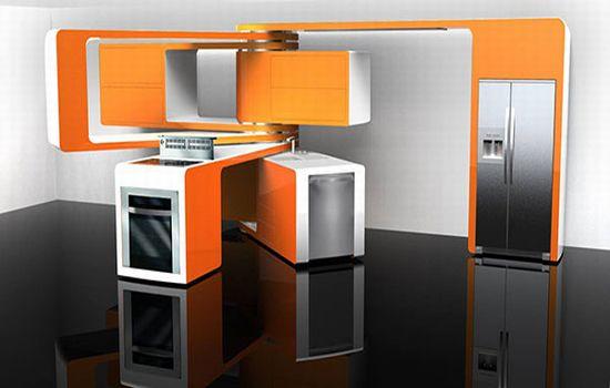 Diseño de Producto: Cocina Modular de Marcello Zuffo
