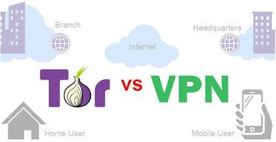 Perbedaan Tor dan VPN
