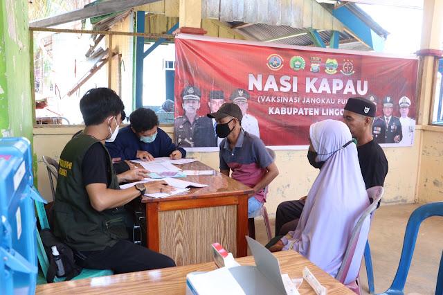 Program NASI KAPAU Dilaksanakan di Desa Posek dan Desa Suak Buaya