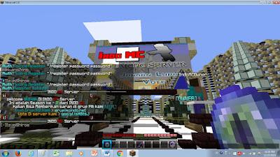 Bermain Multi Player Server Di Minecraft
