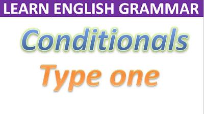 Conditional, Sentence, Type, 1