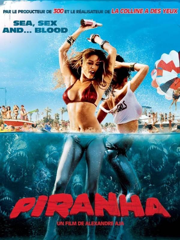 Piranha 3D (2010) Dual Audio Hindi 300MB BluRay 480p