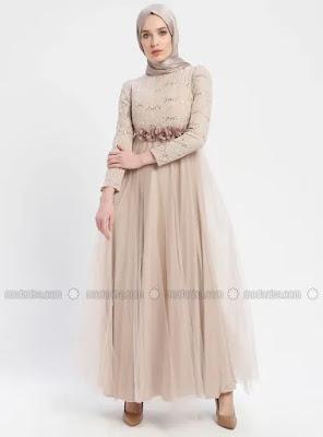 Robes de soirée magnifiques Hijab style 2019