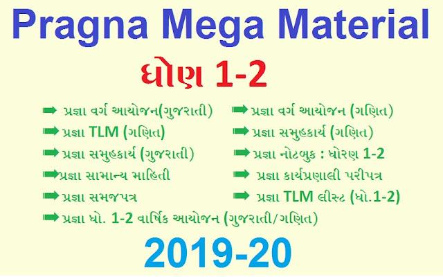 Pragna Mega Material 2019-20