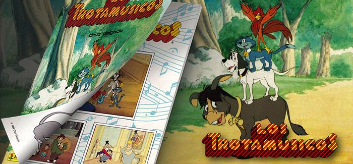 Álbum Los Trotamúsicos (Panini, 1989)