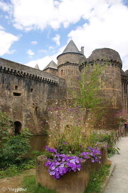 Fougeres - Particolari delle fortificazioni