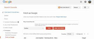 Cara Agar Artikel Cepat Terindex Google