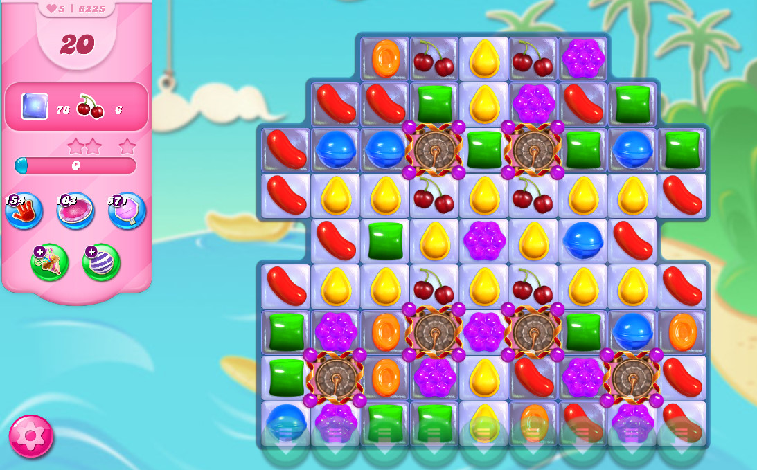 Candy Crush Saga level 6225