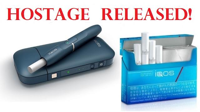 La FDA aprueba el tabaco para quemar sin calor IQOS de PMI para las ventas en Estados Unidos Hostage%2Brelease