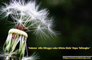 Ucapan Selamat Hari Minggu Dalam Bahasa Toraja