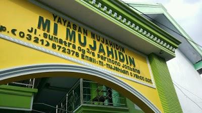 Alamat MI Mujahidin Parimono Jombang