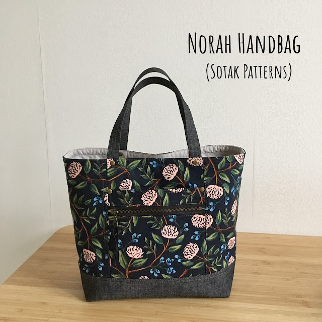 Norah Handbag (new pdf pattern)