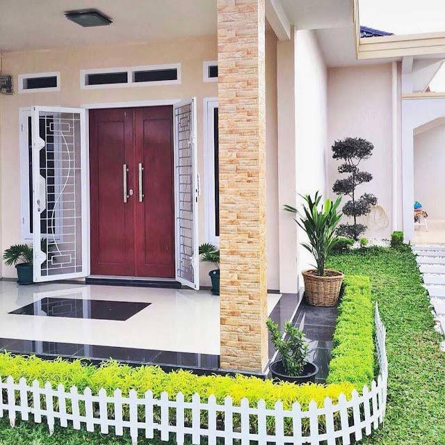 Desain Pintu Rumah Minimalis 2 Pintu Besar Kecil