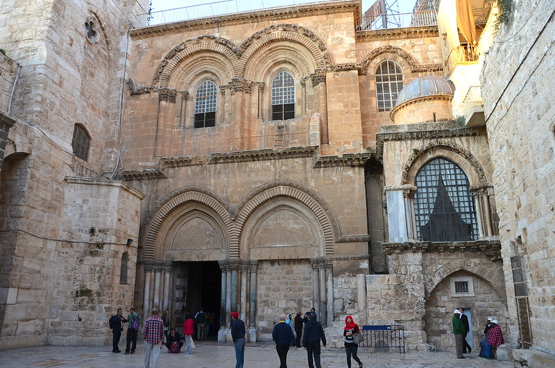 statu qou immovable ladder of jerusalem