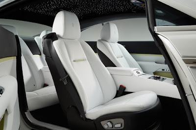 Rolls-Royce Dawn Fashion Inspired special edition seat