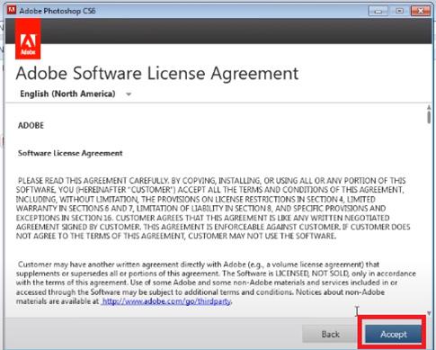 Hướng dẫn cài đặt phần mềm Photoshop CS6 đơn giản và chi tiết c