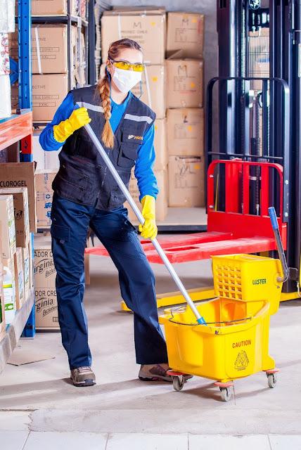 عمال نظافة وهران