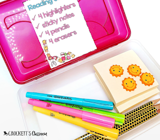 Keep everything organized with these easy and efficient ideas for your literature centers.