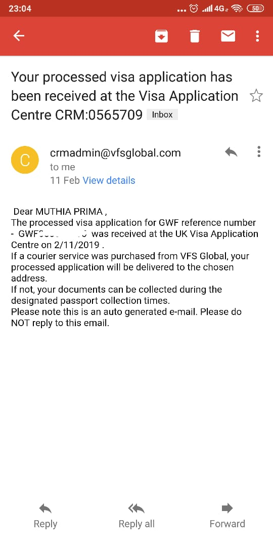 Pengalaman Visa UK : Rejected - Re-apply - Approved   Know Language