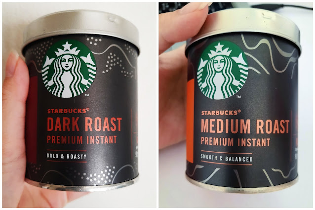 Starbucks Premium Instant Coffee  Dark Roast & Medium Roast