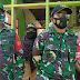 TNI dan Saka Wira Kartika Pronojiwo Distribusikan Bantuan pada Masyarakat Terdampak Gempa Magnetido
