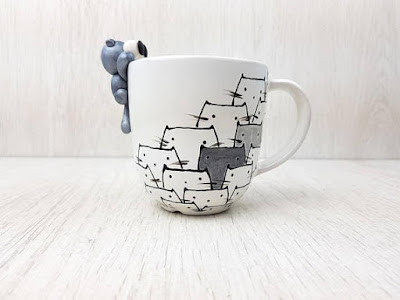 Cat Coffee Cup