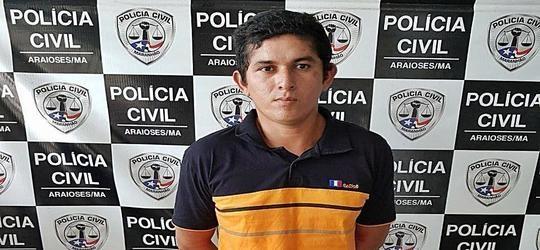 A CASA CAIU: Acusado de estuprar a filha de 12 anos é preso em Araioses-MA