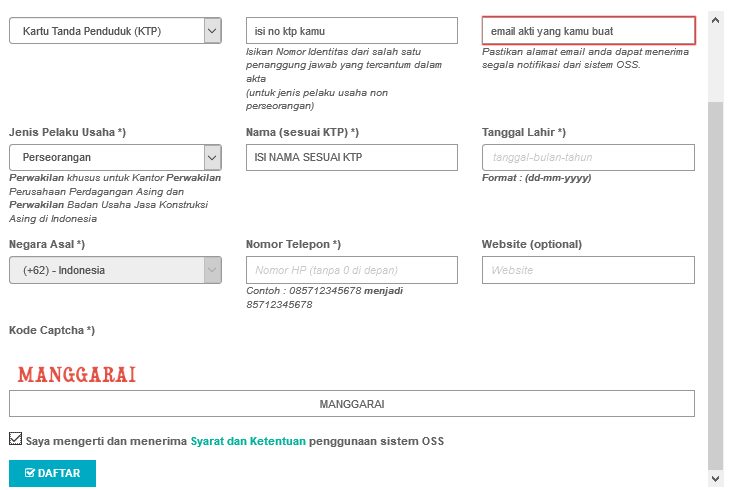 Cara Membuat Izin Usaha Mikro Iumk Secara Online Panduan Pendaftaran Oss Warnetgea Com Online Gaming Browsing