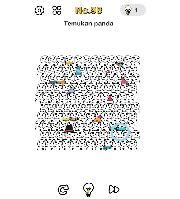 Temukan panda