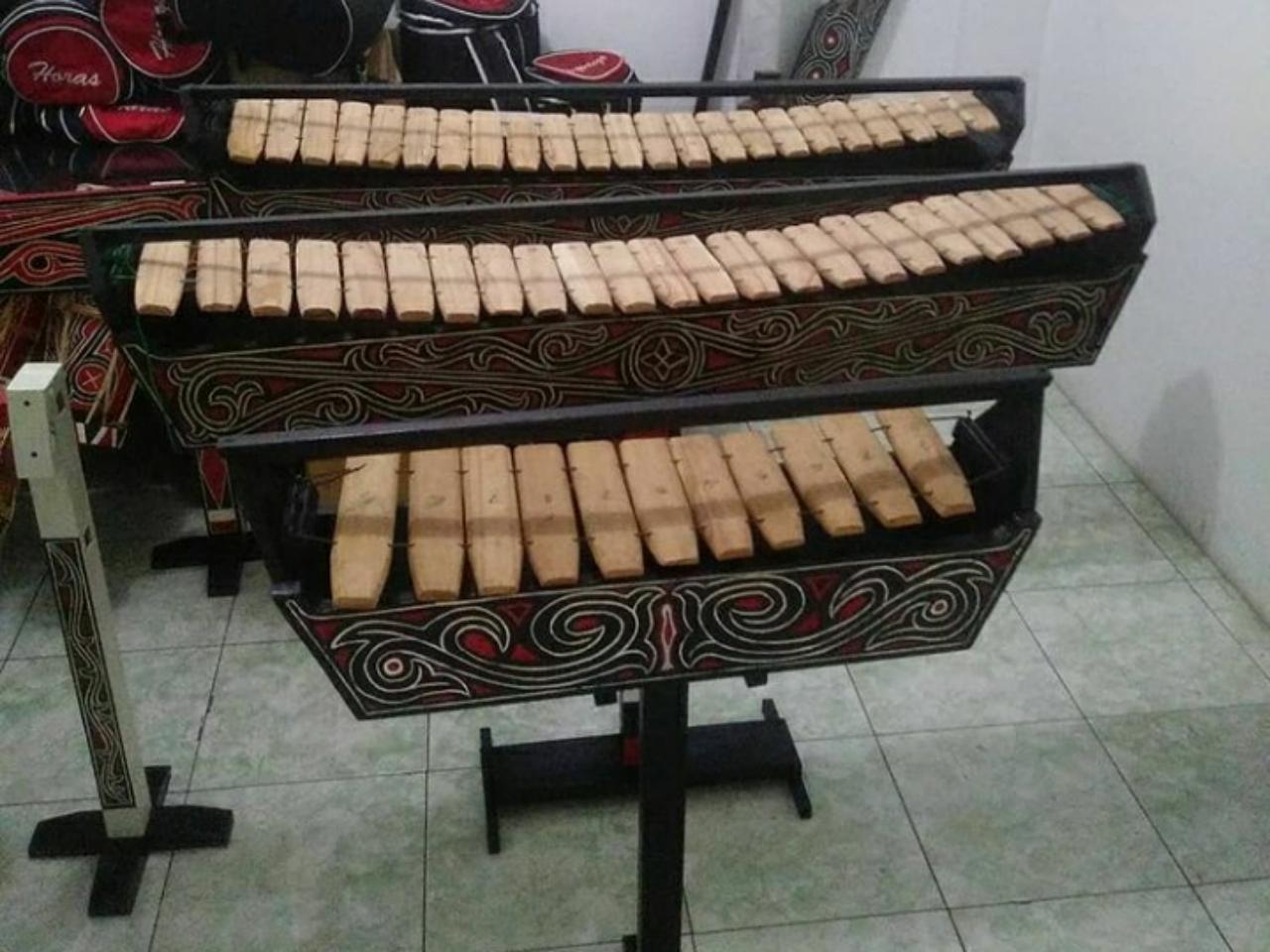alat musik garantung asal sumatera utara