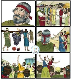https://www.biblefunforkids.com/2013/11/moses-joshua-12-spies-sent-to-canaan.html