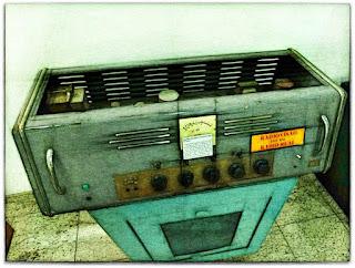 Primeiro Transmissor de Rádio - Museu Histórico de Canoas (Dr Sezefredo Azambuja)