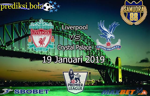 Prediksi Bola Terpercaya Liga Inggris Liverpool vs Crystal Palace 19 Januari 2019