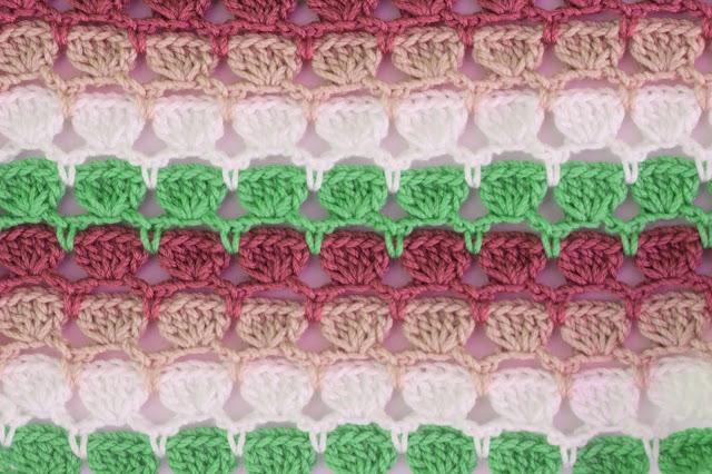 5 - Crochet Imagen Puntada de colores para blusas de verano a crochet y ganchillo por Majovel Crochet