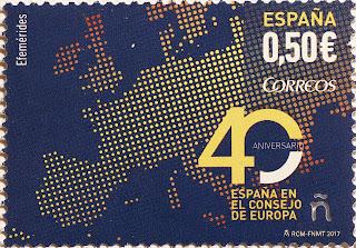 40 ANIVERSARIO ESPAÑA EN EL CONSEJO DE EUROPA
