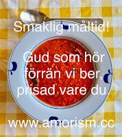Fredriks vegetariska pumpasoppa