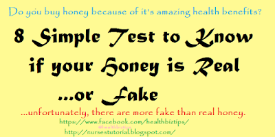 Honey: How to determine Fake from Real