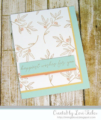 Happiest Wishes card-designed by Lori Tecler/Inking Aloud-stamps from Reverse Confetti