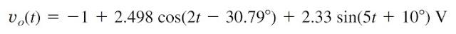 superposition theorem ac circuit