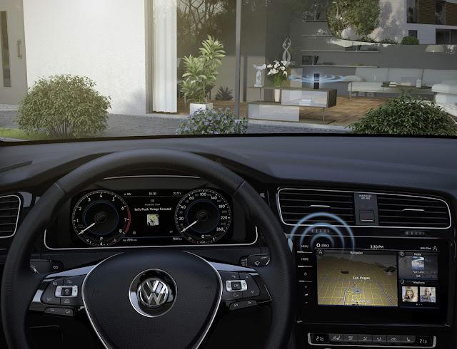 Volkswagen Golf 8 - novo sistema multimídia