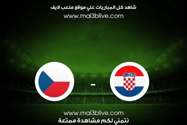 مشاهدة مباراة كرواتيا وجمهورية التشيك بث مباشر اليوم الموافق 2021/06/18 في يورو 2020