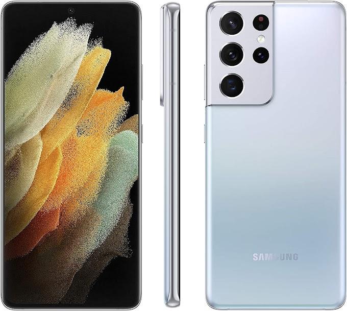 جوال Samsung Galaxy S21 Ultra بأفضل سعر على امازون السعوديه