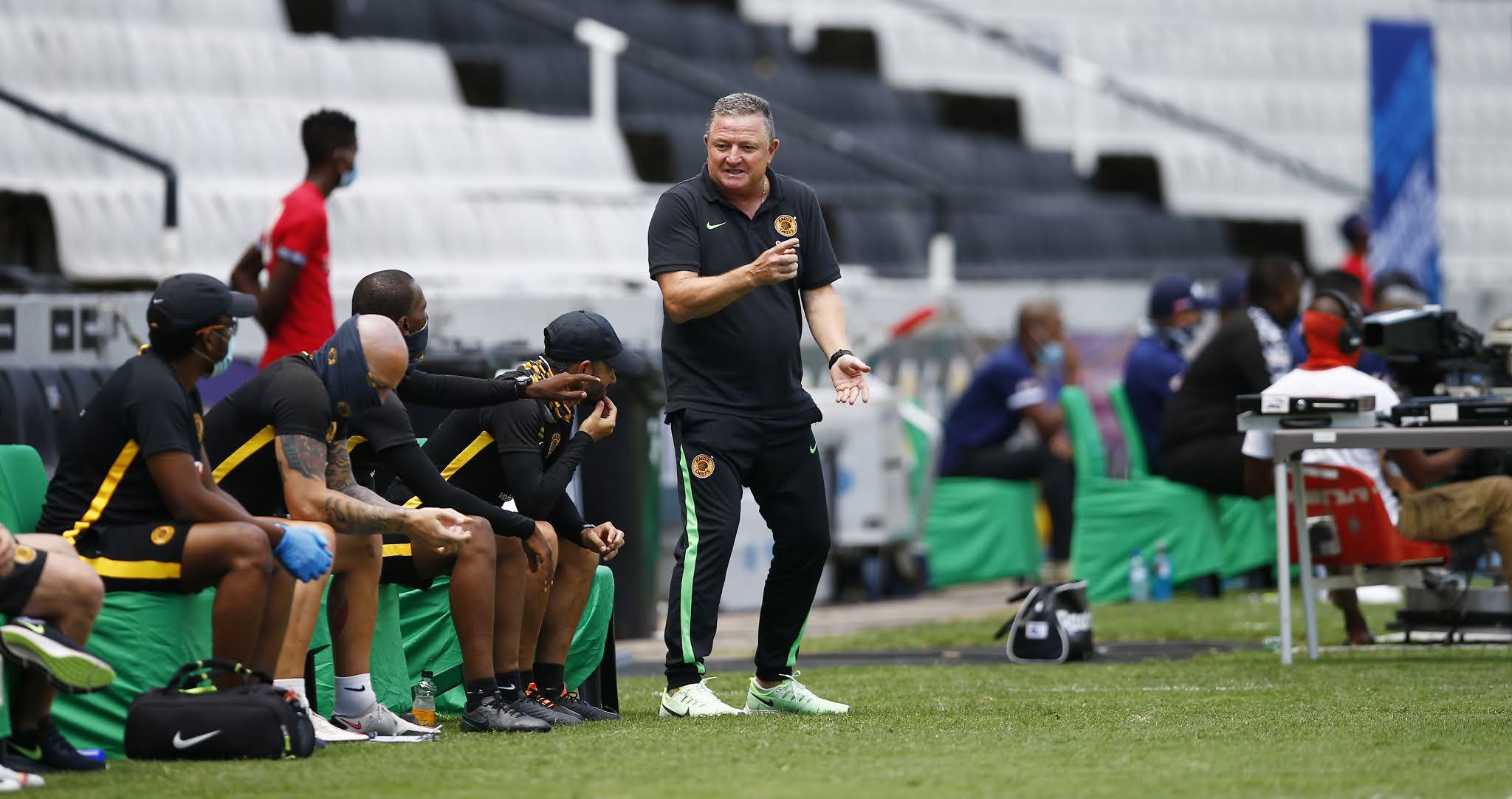 Gavin Hunt will seek to break Masandawana's unbeaten run in the DStv Premiership