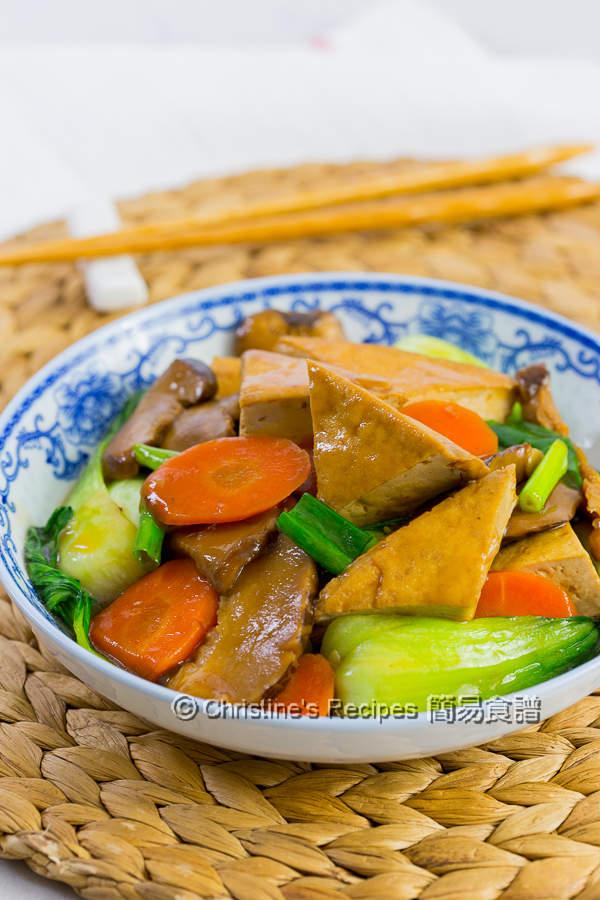 紅燒豆腐 Braised Tofu03