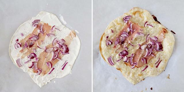 Flammkuchen vorher/ nachher | pastasciutta.de